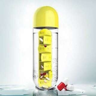 Pill Water Bottle