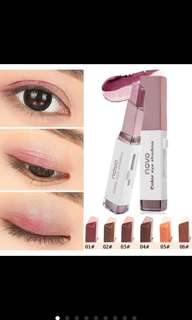 Novo Eyeshadow Stick Double Colour Stereo Velvet