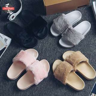 [PO] furry slippers