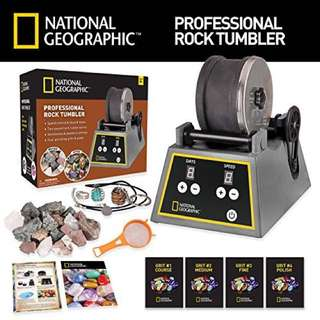 NATIONAL GEOGRAPHIC Professional Rock Tumbler