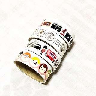 Stickers (4 rolls)
