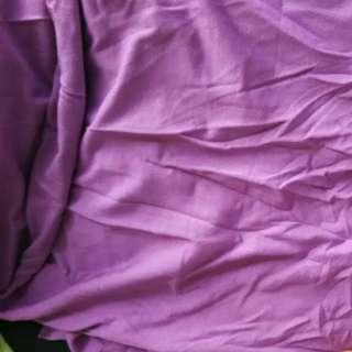 Purple Tee Material