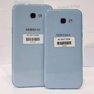 samsung A7 2017 blue mist Garansi Resmi Samsung SEIN Indonesia