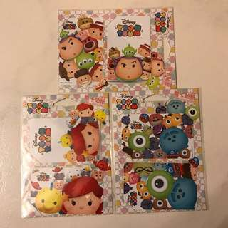 Tsum Tsum Ezlink Card Stickers