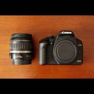 Canon 500D w Kit Lens