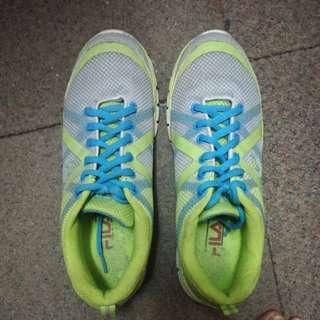 Fila Green Rubber Shoes