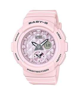 Casio Baby G Light Pink Resin Band Watch