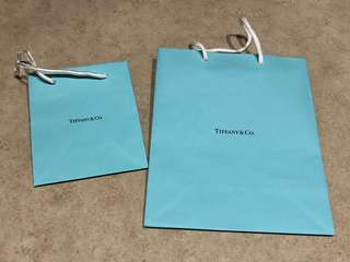 TIFFANY & CO. 紙袋