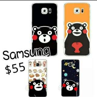 Samsung case卡通熊本熊手機殼