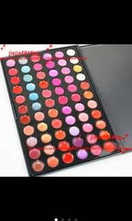 66 Lip Colours Palette