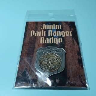 US national park junior park ranger badge