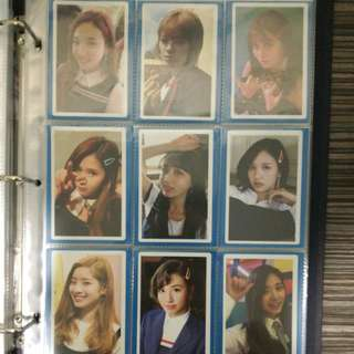 WTS TWICE Signal Monograph Photocard Set