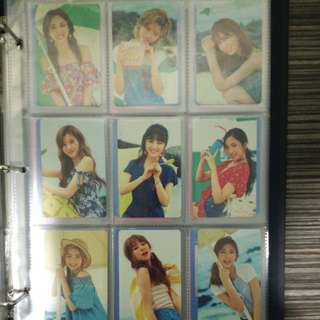 WTS TWICE TWICEZine Jeju Island Edition Photocard Set
