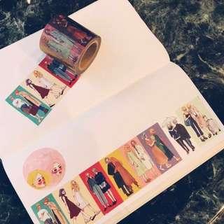La Dolce Vita You&Me Washi Tape