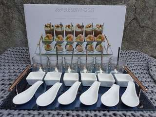 25-pcs Serving Set with Tray