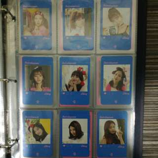 WTS TWICE Likey Photocard Set