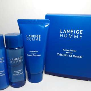 LANEIGE HOMME ACTIVE WATER