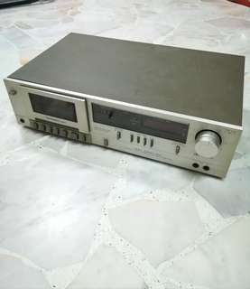 (Not Working) Technics M24 Stereo Cassette Deck Player