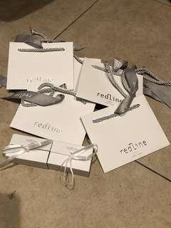 REDLINE 首飾盒 紙袋