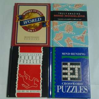 Mind-Bogglers & Puzzles Books