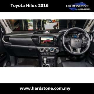 Toyota Hilux 2016 8″ HD screen + DSP sound on Android 6.0 (PD1229)