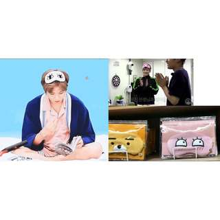 【Korea Buying Service 4/20-29】Wanna One Kang Daniel Kakao Friends Apeach Face Eye Patch