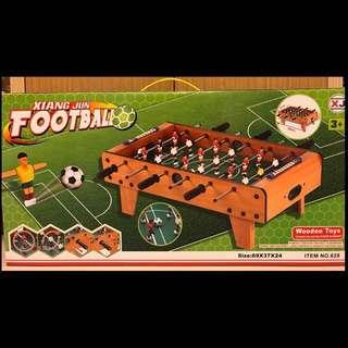 全新木製桌上型足球