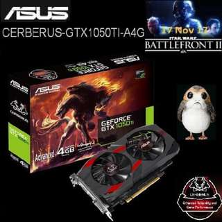 ASUS Cerberus GTX 1050 Ti Advanced 4GB GDDR5 GeForce® .