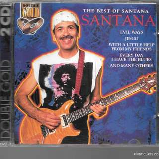 MY PRELOVED CD - SANTANA - THE BEST OF - 2CDS.ALBUM  /FREE DELIVERY (F3K)
