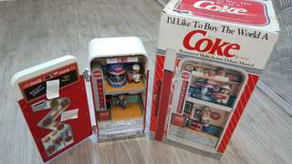 coke refrigerator