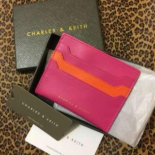 CHARLES & KEITH 雙面卡夾