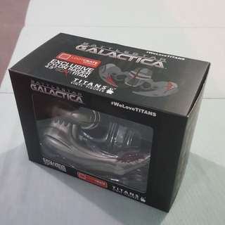 "Legit Brand New With Box Titans Battlestar Galactica Cylon Raider 4.5"" Loot Crate Exclusive Toy Figure"