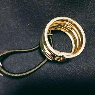 日本品牌   Doudou 金圈髮飾