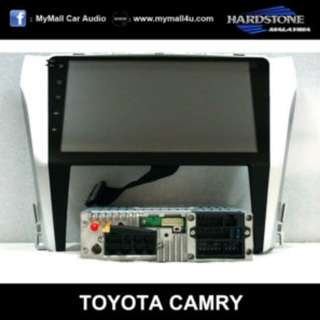 Toyota Camry 2015 – 10.2″ HD screen + DSP sound on Android 6.0 (PD1041)