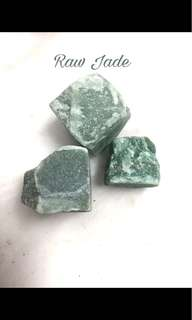 Raw Green Jade