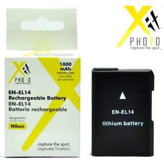 XIT XTENEL14 Lithium Ion Replacement Battery for Nikon