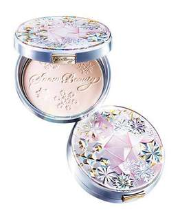 Shiseido MAQuillAGE Snow beauty whitening face powder 2017