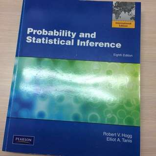 🚚 Probability and Statistical Inference 8e
