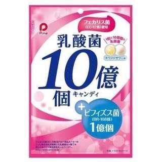 日本原裝進口 派恩10億個乳酸菌糖 70g