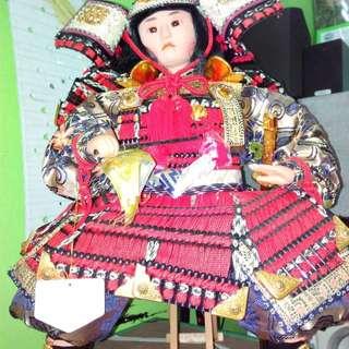 Vintage Japanese Samurai Doll Shogun Style