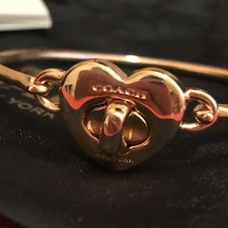 Coach Bracelet Rose Gold col