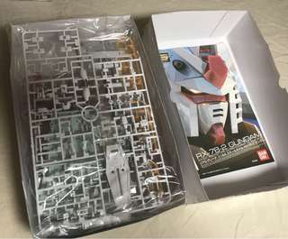 RG 1/144 RX-78 白盒元祖高達