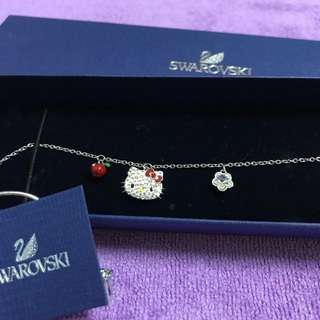 Swarovski hello kitty bracelet