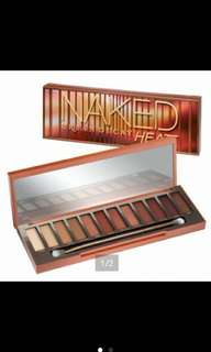 Urban Decay Naked Heat Eyeshadow Palette Authentic