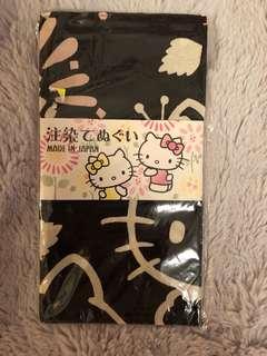 Hello Kitty 長方形紗巾