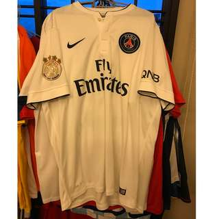 PSG White Away 2014-15 Shirt