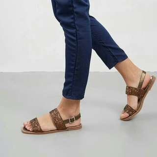 Diba Sandals Bymay BROWN
