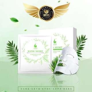 Wowo Tea Polyphenols Silk Preservation Mask 25g x 5 pcs