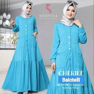 MF - 0218 - Dress Busana Muslim Cherie Maxi