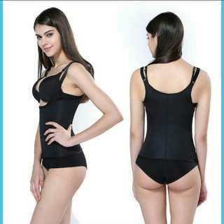 Hot Shaper waist zipper corset.